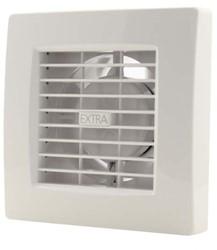 Badlüfter 100 mm Weiß mit Timer - Luxus X100T