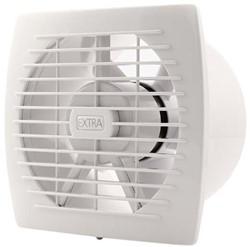Badlüfter 150 mm Weiß mit Timer und Feuchtigkeitssensor - Standard E150HT