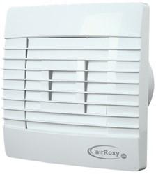Badlüfter Ø100mm Weiß mit Automatischer Klappe Feuchtigkeitssensor und Timer - Prestige 100ZGHS