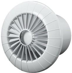 Badlüfter Ø100mm mit Timer Weiß rund - 100BBTS