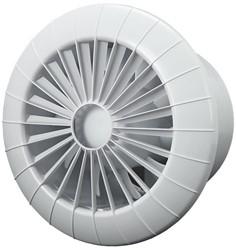 Badlüfter Ø120mm Weiß rund - 120BB