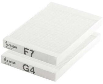 WRG Ersatzfilter F7/G4 für Vasco D150EP II (228x165)