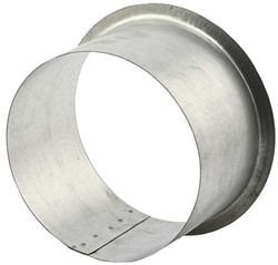 Anschluss für runde Rohre und Ventile Ø 160 mm H=90mm