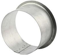 Anschluss für runde Rohre und Ventile Ø 125 mm H=70mm