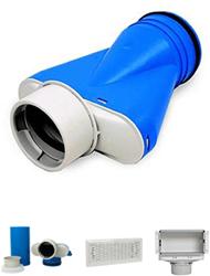 Uniflex Plus Lüftungsgitter und Kollektor