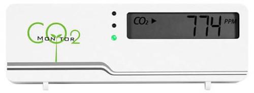 CO2 Messgerät Air Indicator Compact mit Temperaturanzeige