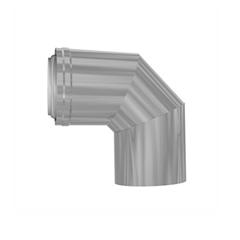Konzentrisches Luft-Abgassystem PPH-Stahl Bogen 90