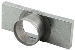 Deckel mit Rohranschluss 165x80 nach Ø 80 mm