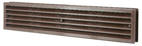 Türgitter Kunststoff Braun 450x92mm VR459