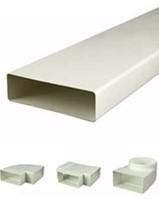 Flachkanäle und Formteile Kunststoff