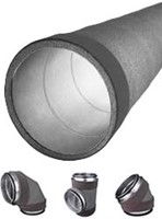 Thermoduct isolierte Wickelfalzrohre und Formteile