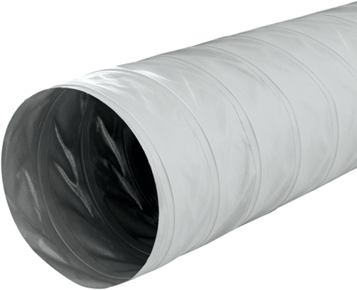 Greydec Polyester Lüftungsschlauch Ø 406 mm Grau (10 Meter)