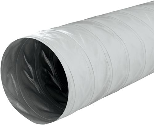 Greydec polyester Schlauch 100 mm Grau (1 Meter)