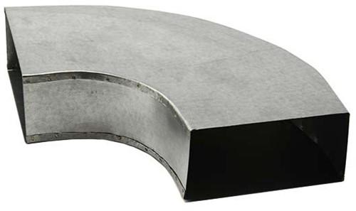 Bogen für Flachkanal 90° 220x80 Horizontal