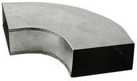 Bogen für Flachkanal 90° 165x80 Horizontal