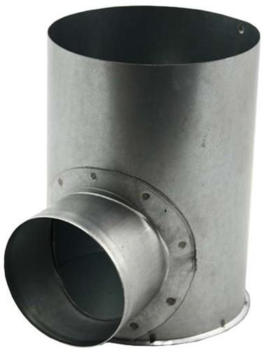 Ventilanschluss Ø 125 mm nach Ø 80 mm für Tunnelbau