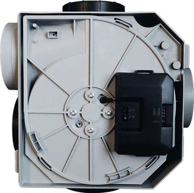 Wonderbaarlijk Itho Daalderop CVE-S eco fan Ventilator RFT SE 325m3/h + PG-08