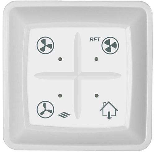 Itho drahtlose Bedienung RFT für CVE und Duco C mit Nicht-Zuhause-Funktion