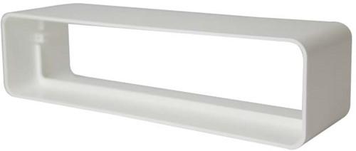 Steckverbinder für Flachkanal Kunststoff 220x55mm KS25