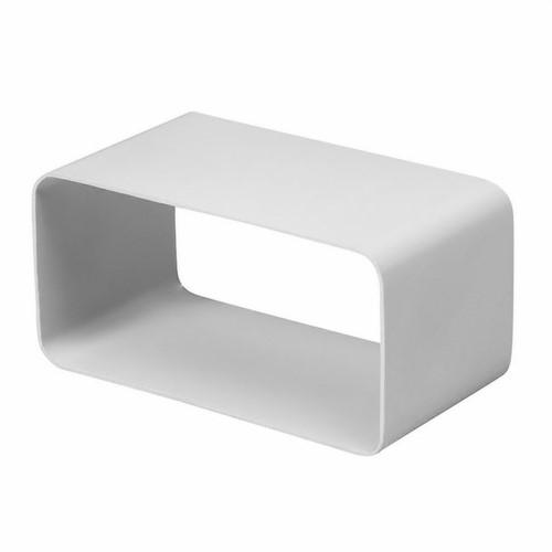 Kunststoff Anschlussmuffe quadratisch 220x55 mm - KSF25