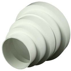 Reduzierstück Kunststoff universell Ø ;80, 100, 120, 125, 150 mm