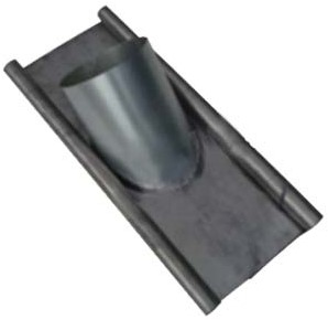 WRG HR Dachpfanne für Dachdurchführung 1 - 60° Ø 355 mm