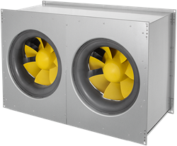 Ruck Etamaster Kanalventilator EC-Motor 8890m³/h - 800x500 - EMKI 8050 EC 22