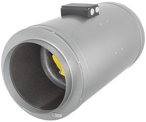 Ruck schallisolierter Rohrventilator Etamaster mit EC-motor 3230m³/h - Ø 355 mm - EMIX 355 EC 11