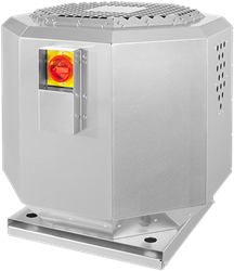 Ruck Dachventilator schallisoliert für Groß- und Gewerbeküchen – bis 120° C - 3670 m³/h - DVNI 315 E2 21