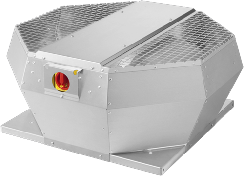 Ruck Dachventilator Metall - aufklappbar mit EC Motor 12031m³/h - DVA 560 ECP 31