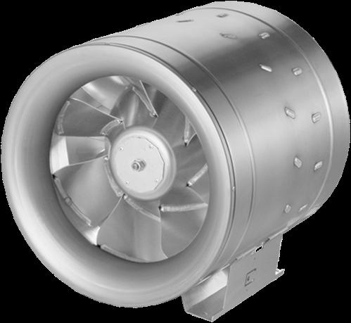 Ruck Etaline D Rohrventilator 6910m³/h - Ø 400 mm - EL 400 D2 01