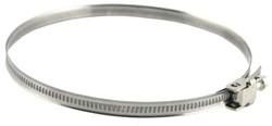 Schlauchschelle aus Metall Ø 60 mm - 325 mm