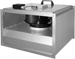 Ruck isolierter Kanalventilator 3670m³/h - 600x350 - KVRI 6035 E4 31