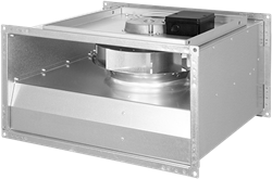 Ruck nicht isolierter Kanalventilator EC-Motor 4610m³/h - 600x350 - KVR 6035 EC 31