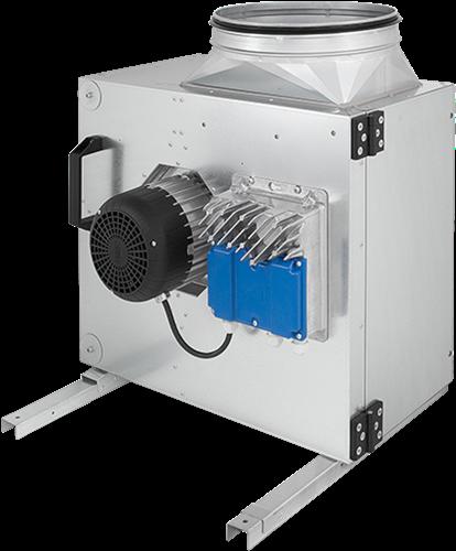 Ruck Abluftbox mit EC Motor außerhalb des Luftstroms 6245m³/h Ø354 mm - MPS 400 EC 21