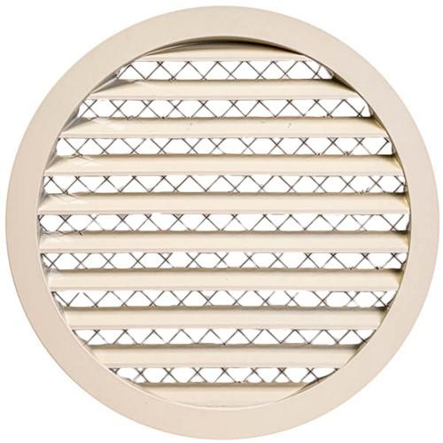 Gitter aus Aluminiumlegierung Ø250 beige - MRA250Y