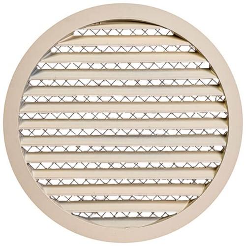 Gitter aus Aluminiumlegierung Ø315 beige - MRA315Y