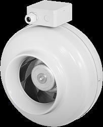 Ruck Rohrventilator mit EC Motor 460m³/h - Ø 125 mm - RS 125 EC