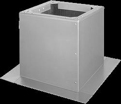 Ruck Flachdachsockel für DVA - P 355, 400, DVN -I 355, 400, DHA- P 355, 400 - DSF 355-10