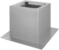 Ruck Flachdachsockel für DVA - P 450, 500, DVN -I 450, 500, DHA- P 450, 500 - DSF 450-10
