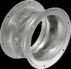 Ruck flexibler Dachansaugstutzen, verzinktes Stahlblech Ø 183 mm - DAS 180