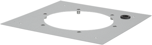 Ruck® Dachadapterplatte für DVA (P) 450, 500, DVN(I) 450, 500, DHA(P) 450, 500 (DAP 450)