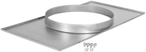 Ruck® Adapterplatte Kanal/Rohr - 500x300 - Ø280 (UKR 5030 02)