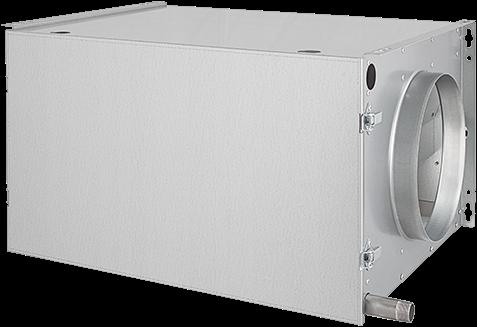 Wärmetauscher für umgekehrte Wärmepumpenanwendung - rechts (DVR 250 01)