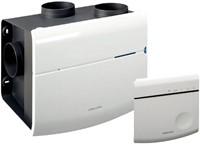 Orcon MVS 15RH CO2B 520m3/h Wohnraumlüftungsanlage mit CO2-Sensor, Feuchtigkeitssensor und RFT Bedienung - Netzstecker