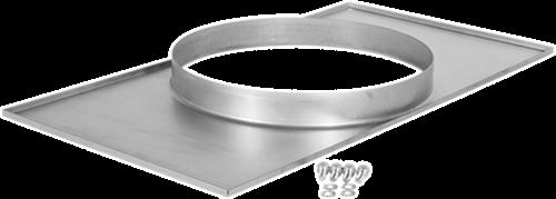 Ruck® Adapterplatte Kanal/Rohr - 500x250 - Ø250 (UKR 5025 01)