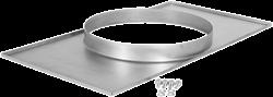 Ruck Adapterplatte Kanal/Rohr - 500x300 - Ø250 - UKR 5030 01