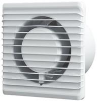 Badlüfter Ø125mm energieeffizient und still mit Stecker und Schalter Weiß 125PS