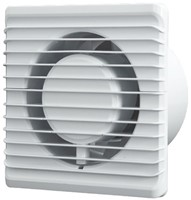 Badlüfter Ø125mm energieeffizient und still mit Timer Weiß 125TS