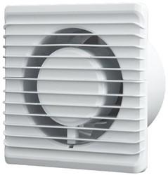 Badlüfter Ø125mm energieeffizient und still mit Feuchtigkeitssensor und Timer Weiß 125HS